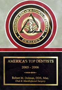 Voted To America's Top Dentists